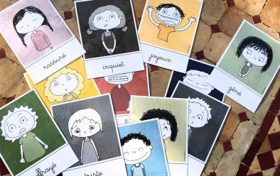 Cartes émotions Bougribouillon hypnose cavaillon salon de provence senas mallemort thérapeute enfants